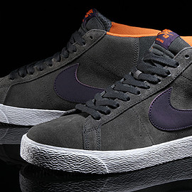 NIKE SB - Blazer Premium SE - Anthracite/White/Purple Dynasty