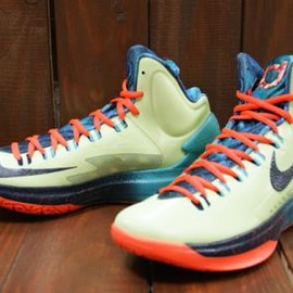 Nike - NIKE KD V-AS LIQUID LIME/TOTAL CRIMSON-SPORT TURQUIOSE
