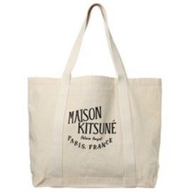 MAISON KITSUNÉ - MAIAON KITSUNE PALAIS ROYAL CANVAS BAG