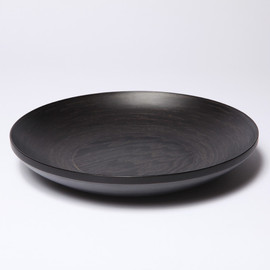 MARGARET HOWELL, BUNACO - ORIGINAL BOWL SHALLOW  BOWL BLACK