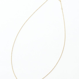 AHKAH - Gold Rhinstone Necklace