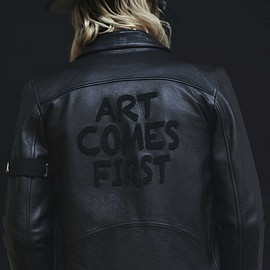the classy - Art Comes First Jagger biker jacket
