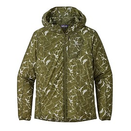 patagonia - M's Houdini® Jacket, Rock Jigsaw: Sprouted Green (ROJW)