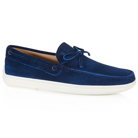 TOD'S - Suede Lofers
