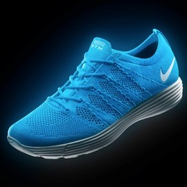 Nike - nike htm flyknit sneakers fall 2012 - 3rd collection - blue colorway