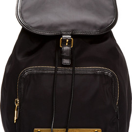 MARC BY MARC JACOBS - Marc by Marc Jacobs Black Work It Baby Got Backpack