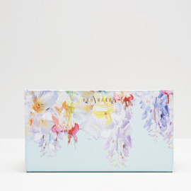 Ted Baker - Hanging Gardens leather passport wallet