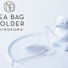 "NECKTIE design office - TEA BAG HOLDER ""SHIROKUMA"