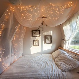 starry bedroom. you can do this at you