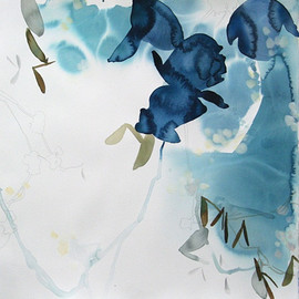 Elise Morris - Nightshade 2, 2012, Acrylic and graphite on paper