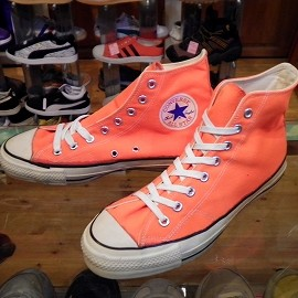 "converse - 「<used>80's converse ALLSTAR HI neon orange""made in USA"" size:US8(26.5cm) 13800yen」販売中"