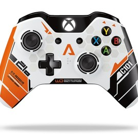 Microsoft, Joel Emslie - Xbox One Wireless Controller: Titanfall - Limited Edition