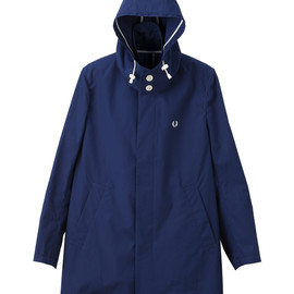 Fred Perry - Convertible Collar Hood Coat