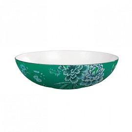 Wedgwood - Jasper Conran Chinoiserie Green Oval Serving Bowl 30.5cm