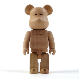 MEDICOM TOY - MEDICOM x KARIMOKU WOOD 'More Trees' Be@rbrick 400%