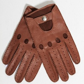 Vivienne Westwood - Leather Driving Gloves in Brown
