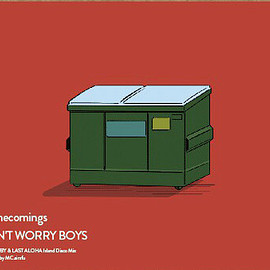 Homecomings - DON'T WORRY BOYS (7inch)