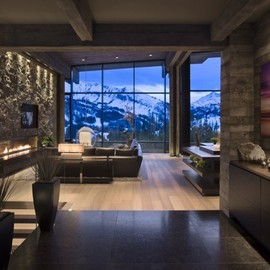 Len Cotsovolos and LC²Design - Big Sky Vacation Home