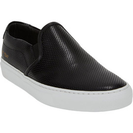 COMMON PROJECTS - Perforated Slip-on Sneakers