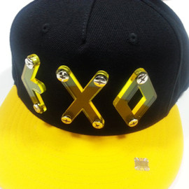 EXO - EXO CAP black×yellow