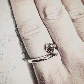 CHROME HEARTS - nail ring