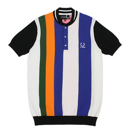 RAF SIMONS×FRED PERRY - ELIMINATOR EXCLUSIVE S/S KNIT_MULTI