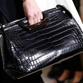 Balenciaga - SS2014 Hand Bag Black Crocodile