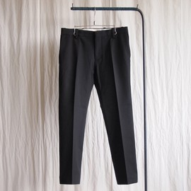 YAECA - Slim Slacks #black