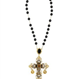 DOLCE & GABBANA - SHORT ROSARY NECKLACE