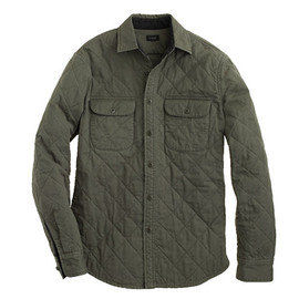 J.CREW - Quilted shirt-jacket