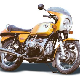 BMW - BMW R90S Daytona Orange Das Original