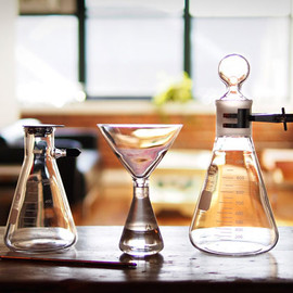 LABORATORY INSPIRED DRINKWARE