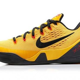 Nike - NIKE KOBE 9 EM UNIVERSITY GOLD/BLACK-LASER CRIMSON