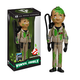 FUNKO - Vinyl Idolz Ghostbusters:  Dr. Peter Venkman (Slimed Version)