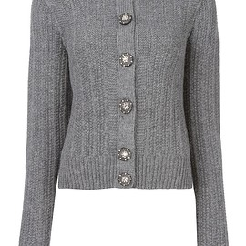 Marc Jacobs - embellished button cardigan