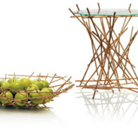 ALESSI - Blow up - Bamboo collection