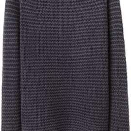T by Alexander Wang - Acid Washed Chunky Pullover