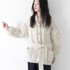 COSMIC WONDER Light Source - ALLAN KNIT CARDIGAN