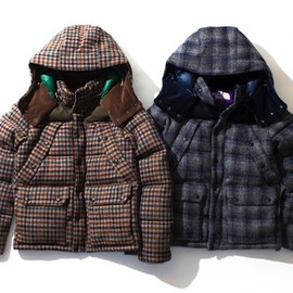 THE NORTH FACE PURPLE LABEL - Harristweed Down Jacket