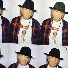 "Supreme - Supreme Launches Its New Spring 2015 ""Neil Young"" Poster Ad Campaign"