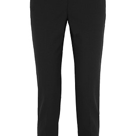 Theory - Testra stretch-wool crepe slim-leg pants