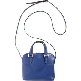 Valextra - Micro 75 Top Handle Bag with Strap
