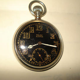 ROLEX - G.S. MK II British Military Pocket Watch, circa 1940's