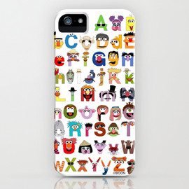 Sesame Street Alphabet iPhone Case