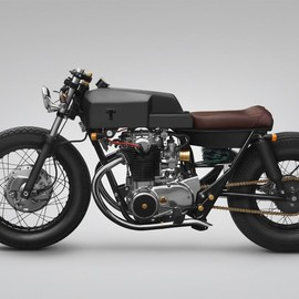 "Thrive Motorcycle - ""T 004 Moon"" Yamaha XS650"