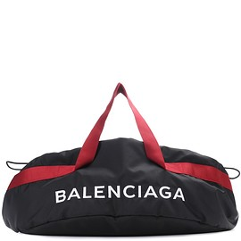 BALENCIAGA - Embroidered canvas bag