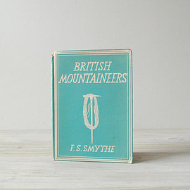Vintage British Mountaineers Book, Illustrated History Book