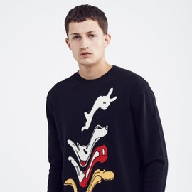 WOOD WOOD - Product image of Johnson sweater Black
