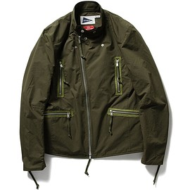 nonnative - nonnative for Pilgrim Surf+Supply / BIKER BLOUSON