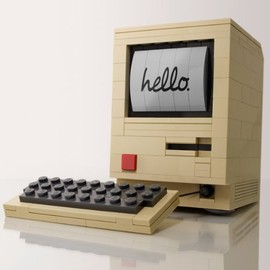 LEGO Apple Macintosh 128K Byte Edition